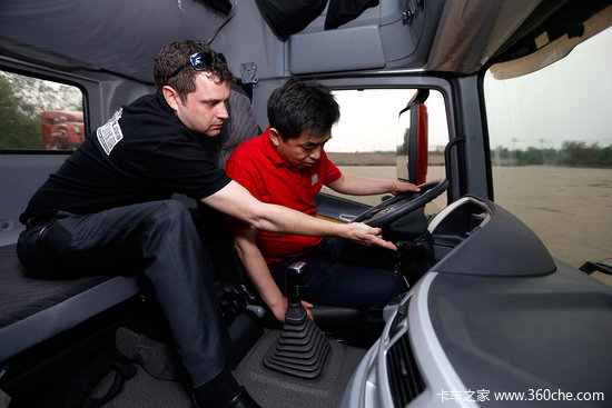 福田戴姆勒汽车欧曼GTL超能版全球上市高清图片