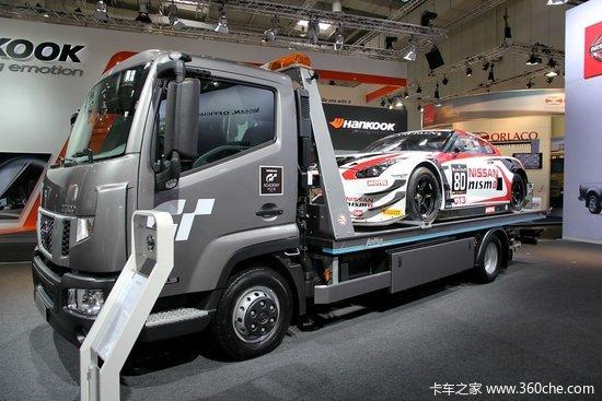 日产Nissan NT500车辆运输车 150马力-IAA 2014 日产纯电动轻型商用高清图片