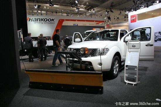 日产Nissan NAVARA皮卡扫雪车-IAA 2014 日产纯电动轻型商用车省成高清图片