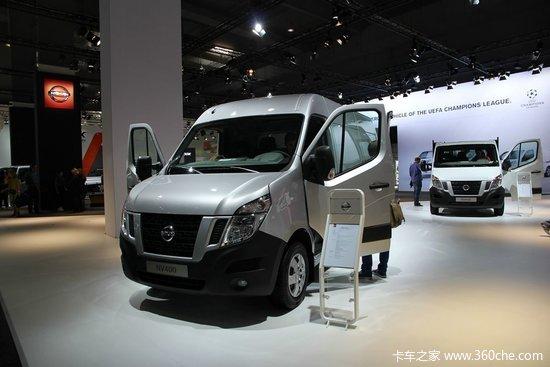 日产Nissan NV400封闭厢式货车 163马力-IAA 2014 日产纯电动轻型商高清图片
