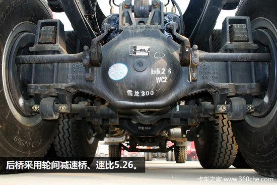 配潍柴动力霸龙6X4自卸车热销成都市场