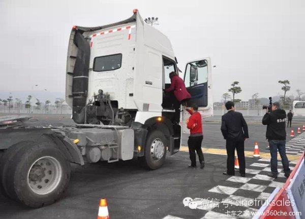 中国重汽T系列福州品鉴会斩获订单456台