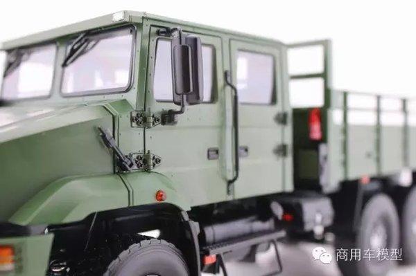 车模欣赏一汽解放MV3新型军用载货车