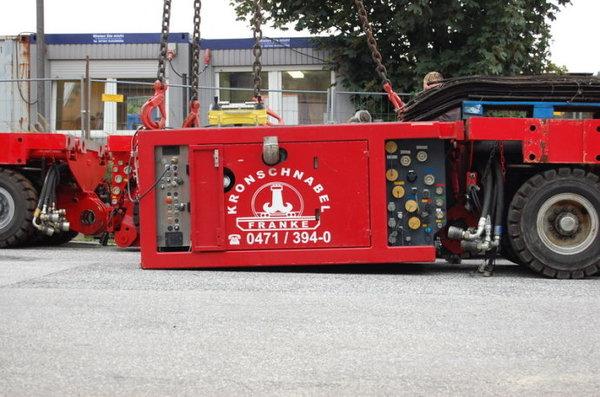 欧洲自行式液压平板车索埃勒实车多图