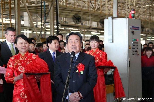 唐骏汽车董事长-唐骏薛董事长 国四升级着力提升服务高清图片