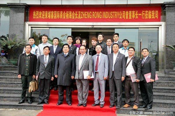 服务先行拓路大运重卡签约柬埔寨市场