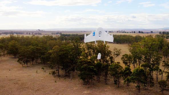 傳統物流巨頭看好亞馬遜無人機可試飛