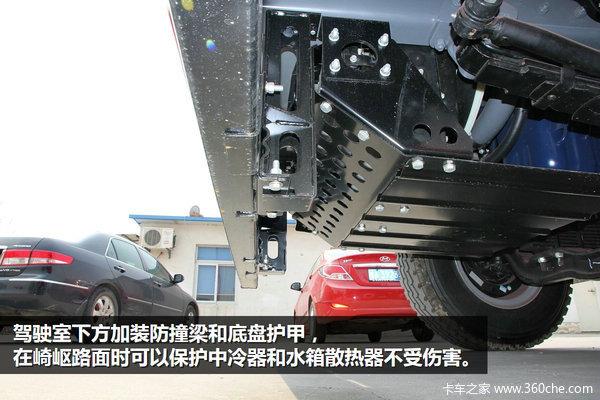 坡多弯急都不怕 江淮短轴距平板运输车