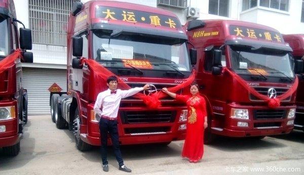 大运红红火火迎新娘化身'爱'的使者