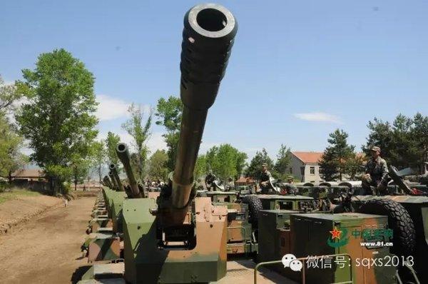 解放军卡车炮训练