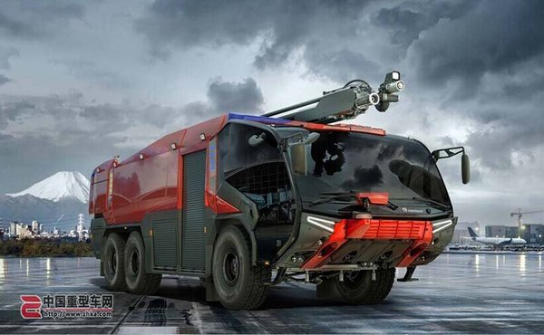 猛兽出击!卢森堡亚发布美洲豹消防车