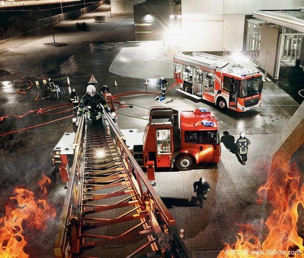 2015消防器材展戴姆勒展消防家族阵容