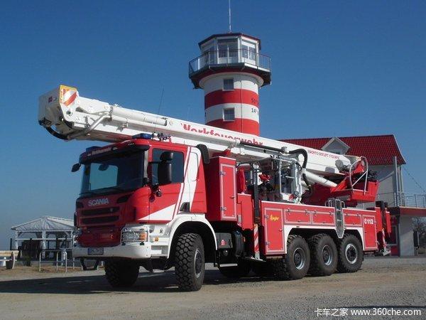 2015消防器材展斯堪尼亚推出5款消防车