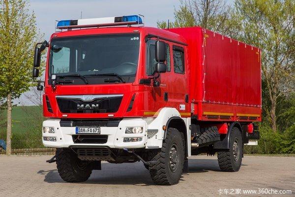 2015消防器材展MAN追求消防车辆可靠性