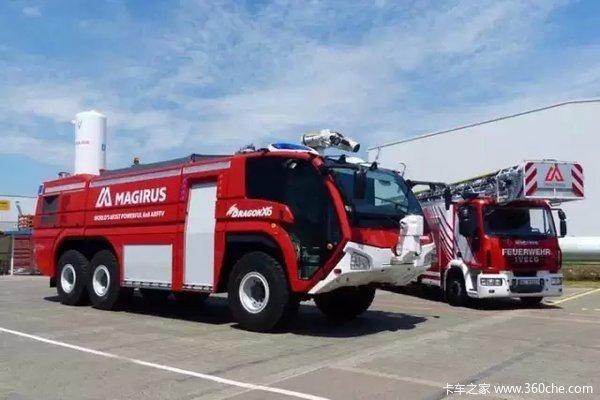 150周年生日依维柯Magirus云梯消防车