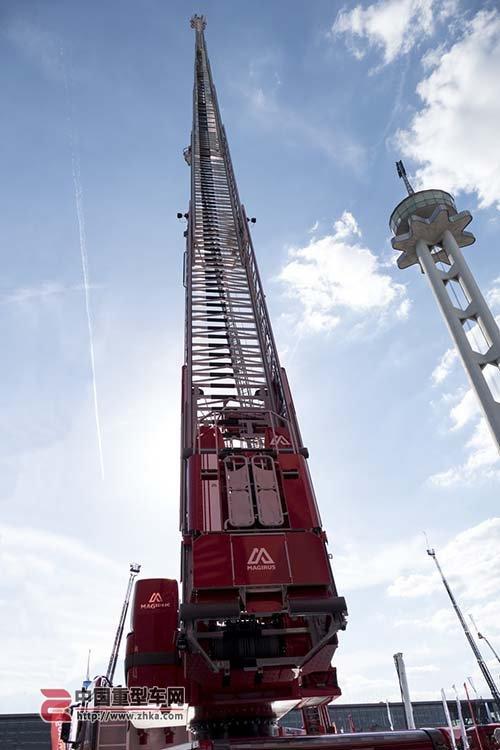 新世界纪录马基路斯出M68L云梯消防车