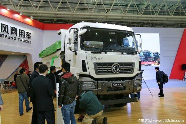 武汉车展:东风商用车携全系商品亮相