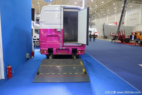 武汉车展:谁说客车不能拉货南充冷藏车