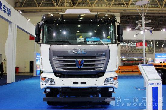 中集新型智能渣土车(联合卡车)-一超二精多强 专用车市场向纯电动图片