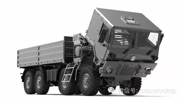 太拖拉T815-7亲手打造全金属越野军卡
