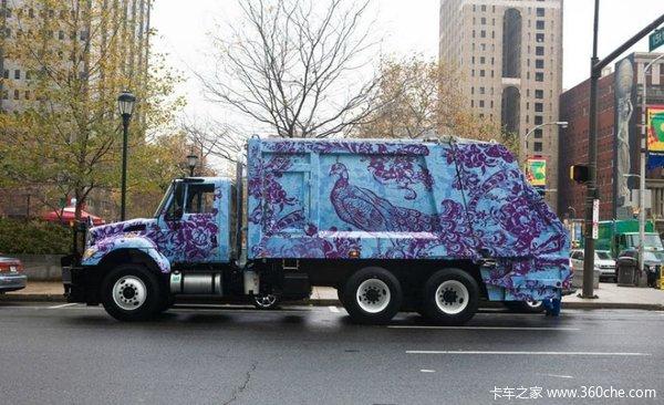 我是惊呆了!国外的<a href='http://www.rlqcgs.com/LaJiChe/'>垃圾车</a>原来长这么帅