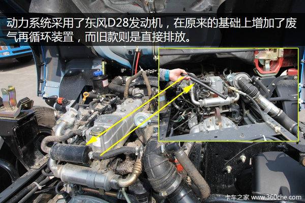 搭D28引擎东风凯普特配置升级还换脸了