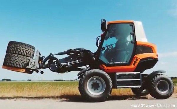 震惊世界的路面机械!它居然会七十二变