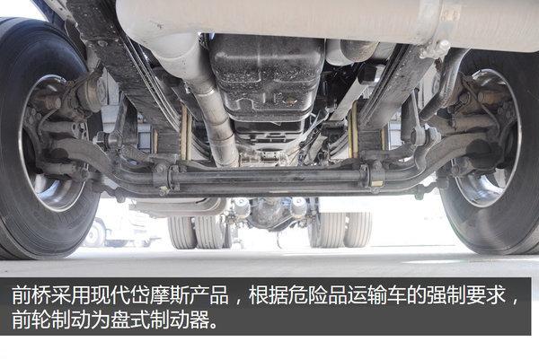 即将量产上市创虎危货牵引车成都实拍