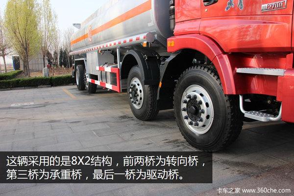 270马力的8X2福田欧曼油品运输车图解