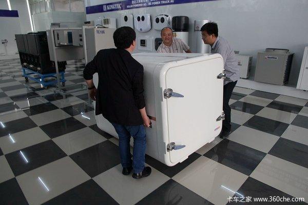 2万买个冷链宝封闭货箱车变身为冷藏车