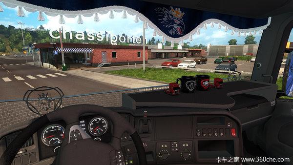 斯堪尼亚专属欧卡2推出个性化套件DLC