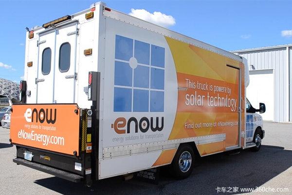 12小时续航零排放美国研发太阳能冷藏车