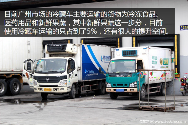 广州冷藏车现状 庆铃排第一江淮增长快