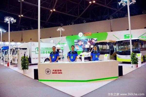 大运汽车全系布局绿色纯电动车产品矩阵