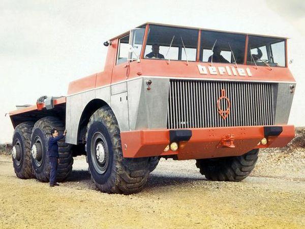 最大1000马力!曾经王者贝利埃T100卡车