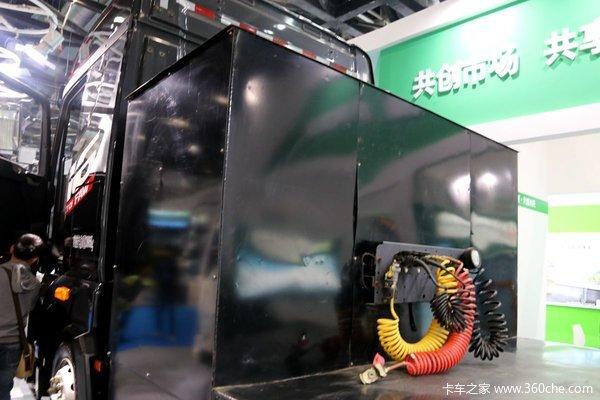 2016新能源车展:14款纯电动货车太吸睛