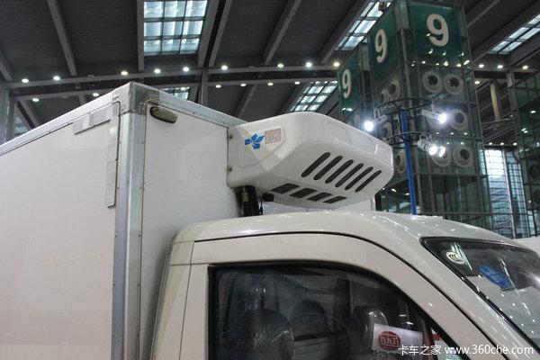 深圳物博会:陆地方舟纯电动冷链运输车