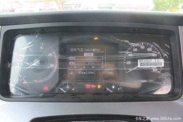 ,分别显示的是卡车前制动与后自动的压力值-卡车为啥要有俩气压表高清图片