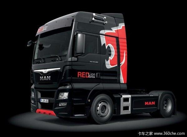 配XXL驾驶室德国曼红狮特别版欧洲上市