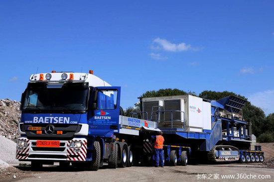 没有最大 只有更大 奔驰Actros大件运输