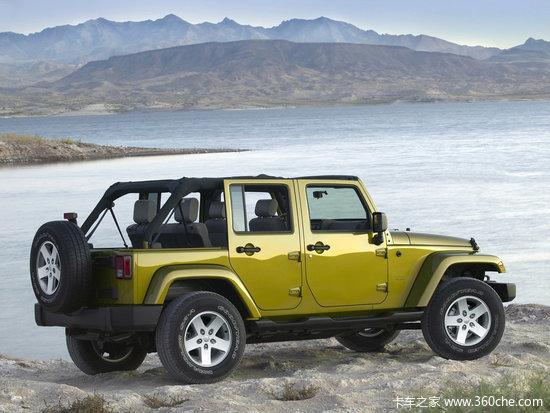吉普牧马人Unlimited款-与牧马人同平台 JEEP皮卡车型明年推出高清图片