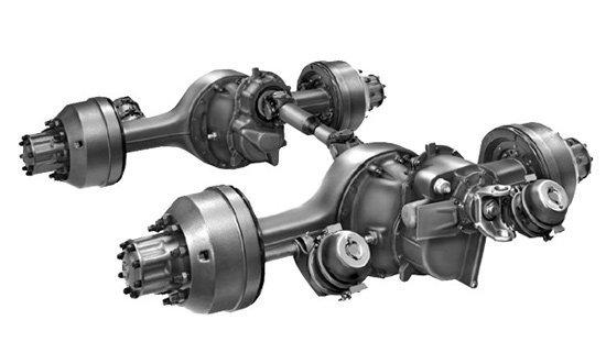 三大类型 重型汽车驱动桥基本结构讲解高清图片